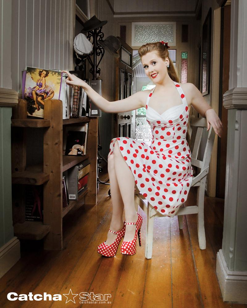 Female model photo shoot of Red Devotchkin in East Brisbane