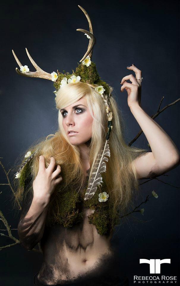 Female model photo shoot of Luna in Exile