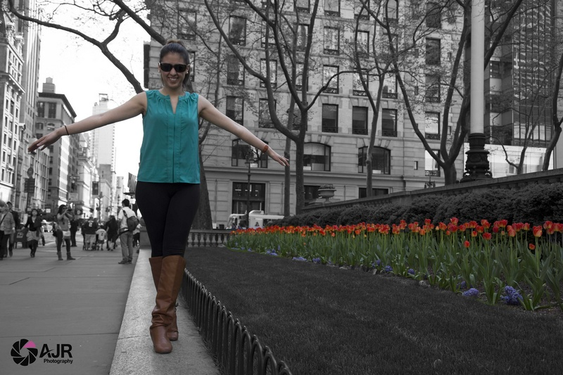Female model photo shoot of AJR Photography YYC in New York City