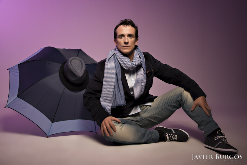 Male model photo shoot of Javier Burgos in Madrid, Spain