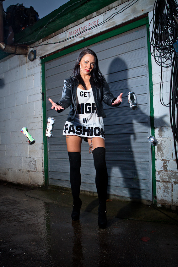 Male and Female model photo shoot of KeithMc and Nicola Paparazzo in Cleckheaton