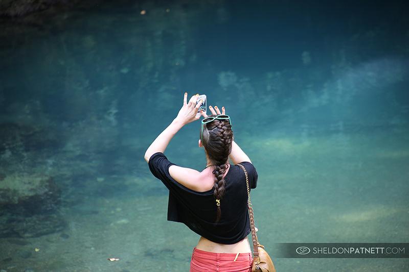 Male model photo shoot of Sheldon Patnett Islands in Blue Hole, Belize, Central America.