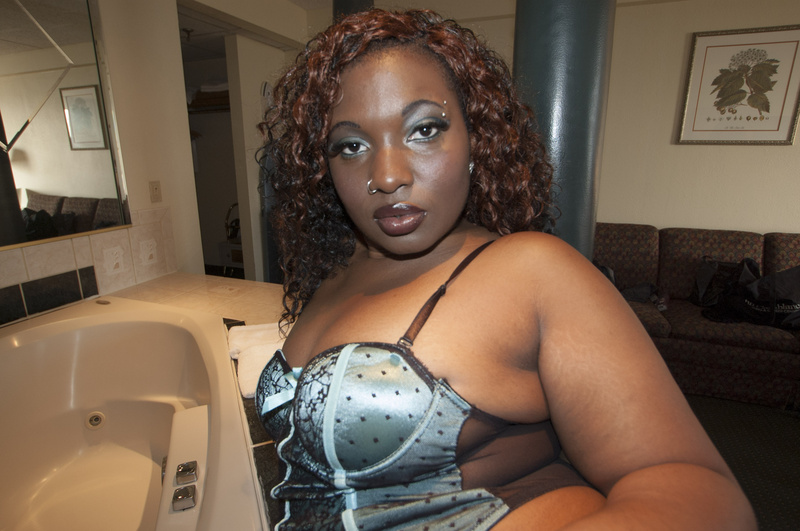 Female model photo shoot of Blaque Fyah