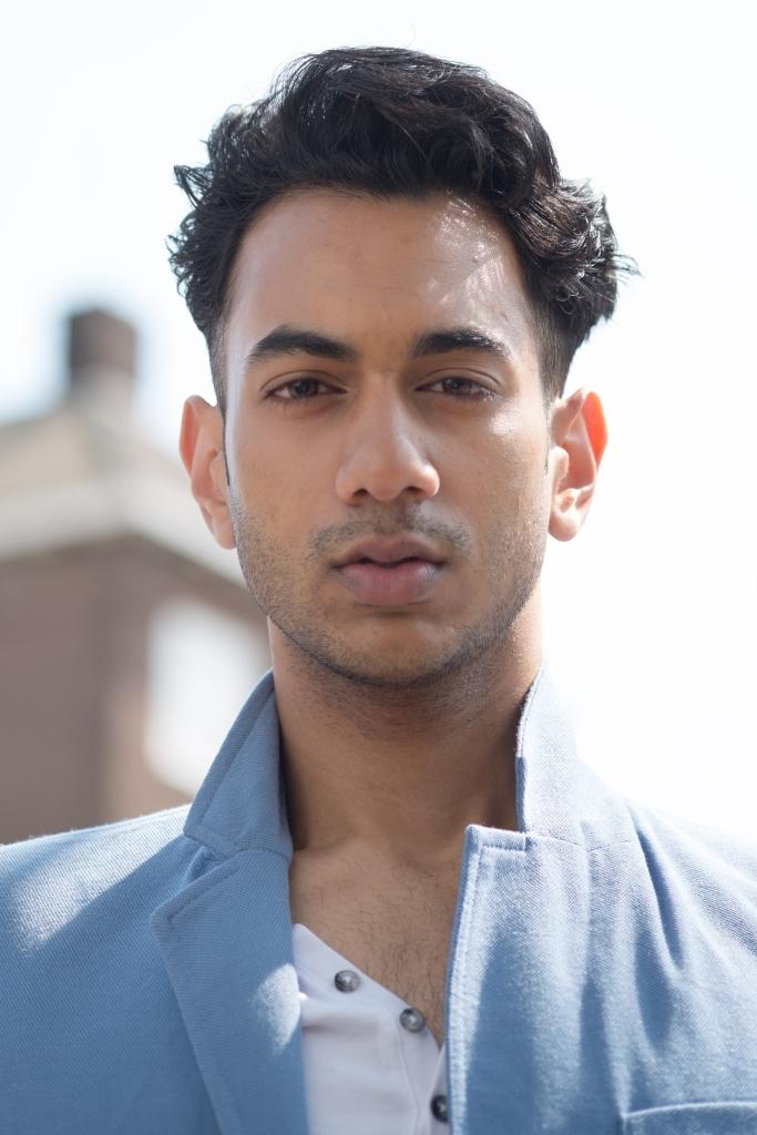 Male model photo shoot of Kai Bhawanibhiek in Amsterdam