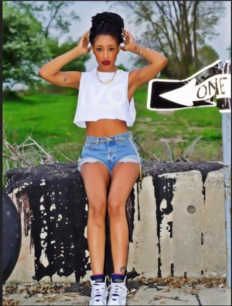 Female model photo shoot of Kaiya Montague