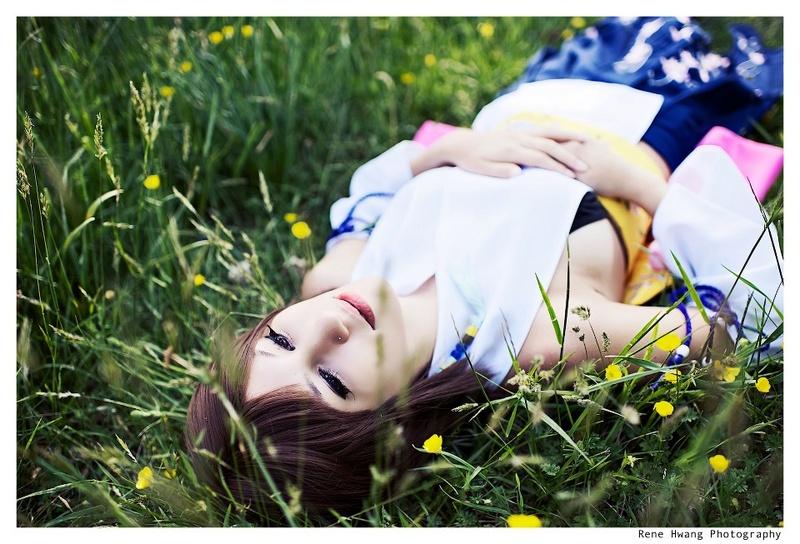 Female model photo shoot of Sugar Blossom