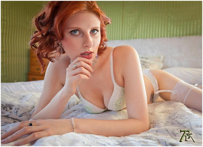 Female model photo shoot of Convoluted Angel