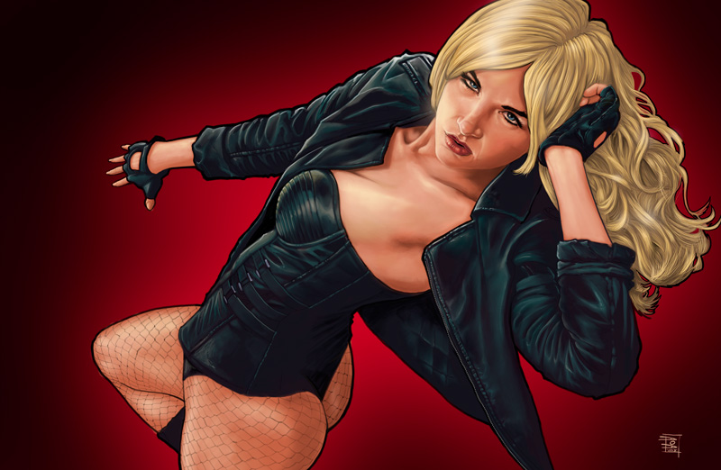 May 23, 2013 Aurora OBrien and Dennis Dorrity Aurora OBrien as the Black Canary