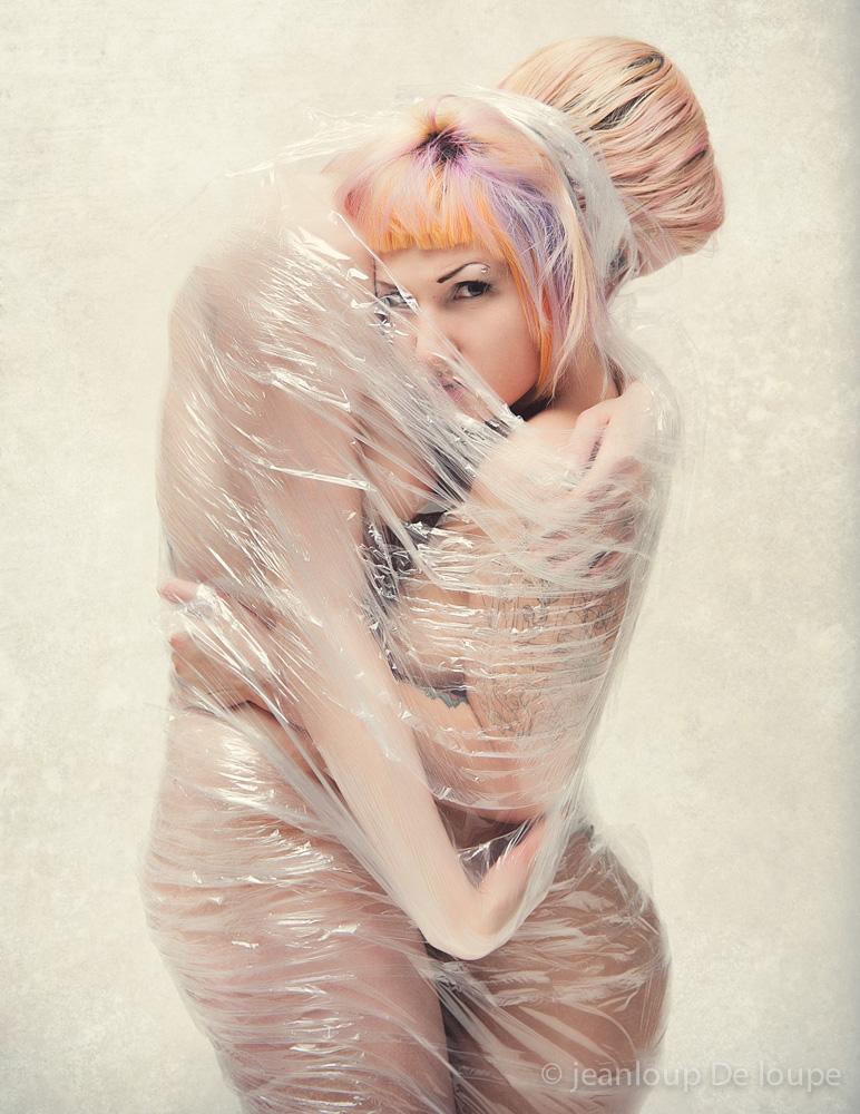 Female model photo shoot of Sheela NaGig and MarlaSinger by Kevin Stenhouse