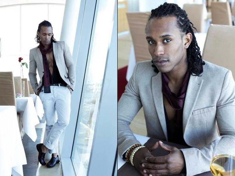 Male model photo shoot of Tao Sean
