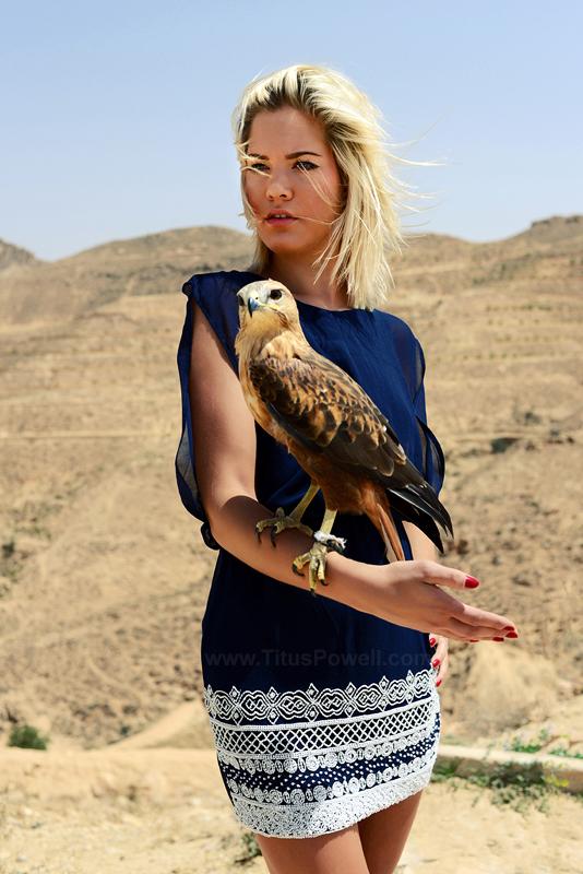Male model photo shoot of Titus Powell in Sahara desert