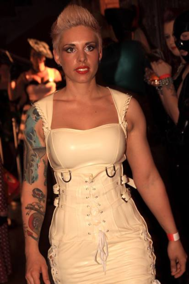 May 27, 2013 Walking for the Ectomorph Fashion show at Rubber Cult May 13