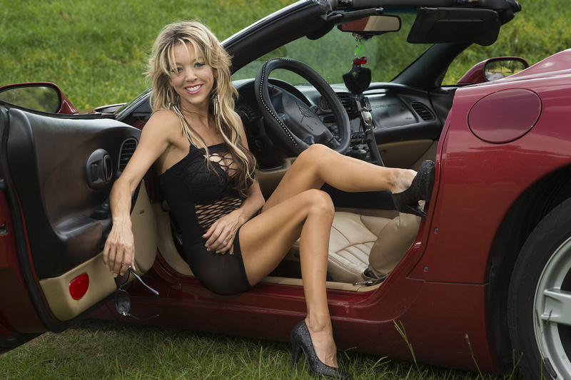 Jun 02, 2013 DCrowe Christy and her red Corvette!