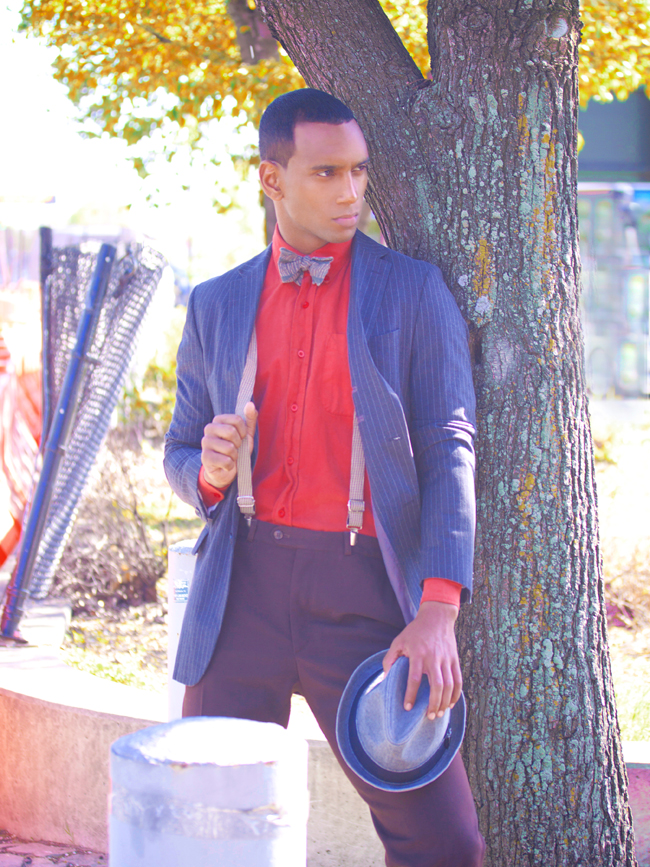 Male model photo shoot of jarvis powers