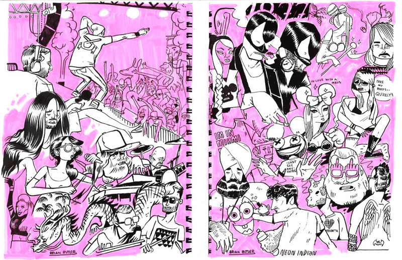 Miami, FL Jun 05, 2013 2012 Ultra Music Festival 2012