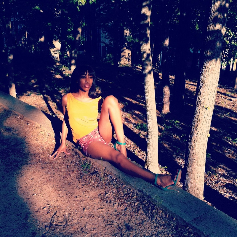 Female model photo shoot of Kareema Hayes