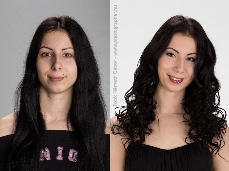 Female model photo shoot of HairMakeup in London