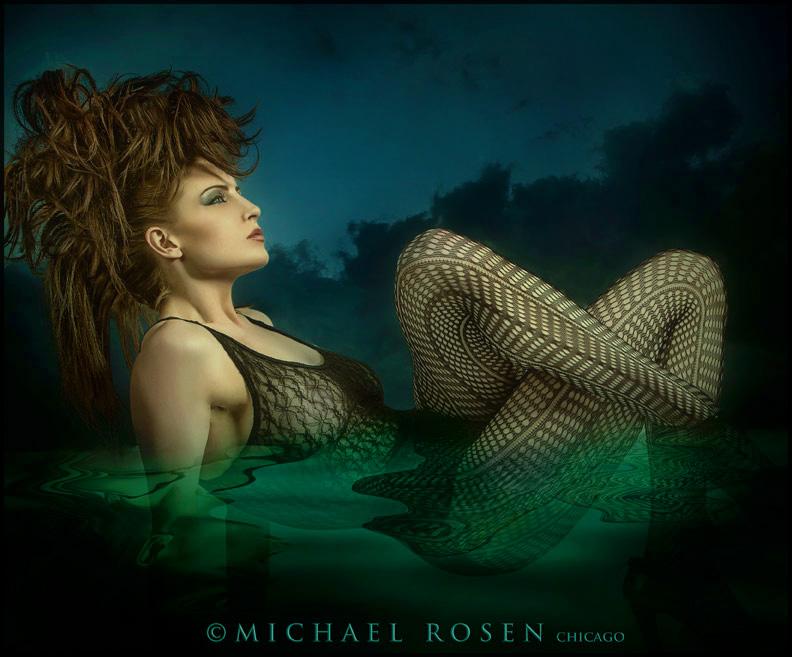 Male and Female model photo shoot of Michael Rosen - Chicago and ericameta in Michael Rosen Studio - Chicago