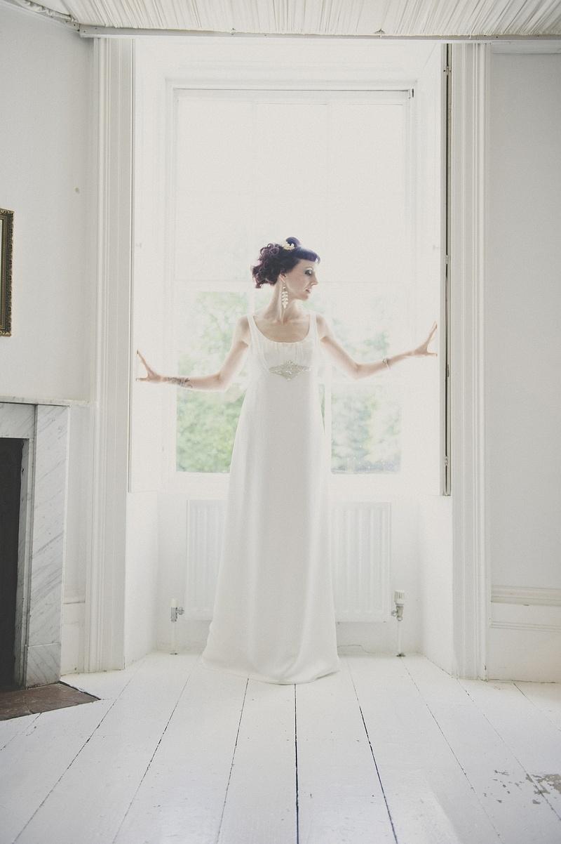 Kent, United Kingdom Jun 10, 2013 Martin Hobby Ghostly Classic Bridal Shoot