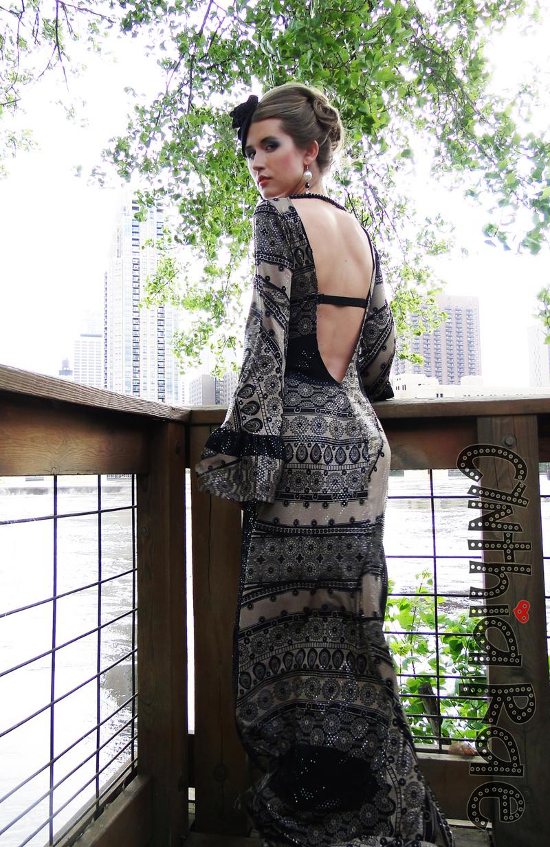 Female model photo shoot of Cynthia Rae and Elle Thomson in Nicollet Island Pavillion, wardrobe styled by Diana Hannah