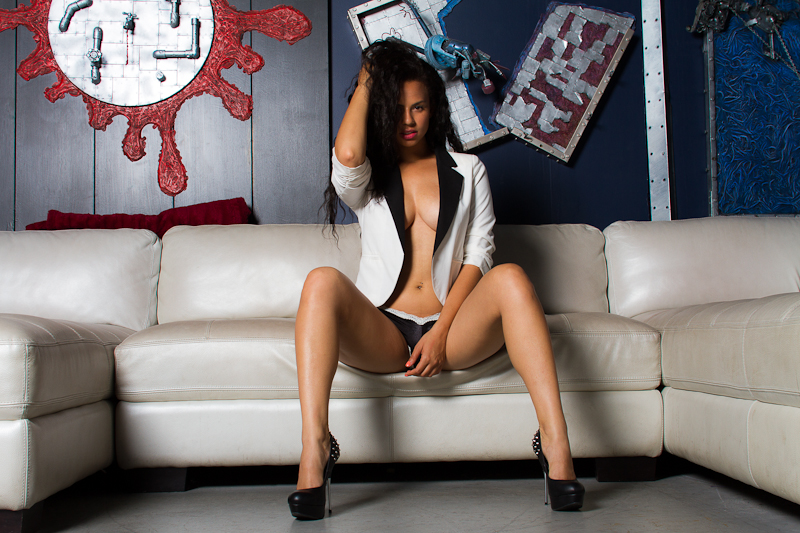 Female model photo shoot of Sade29 by Nathan Sebakijje in DTLA