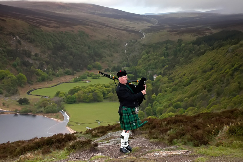 Male model photo shoot of Fintroll in Wicklow Mountains Ireland