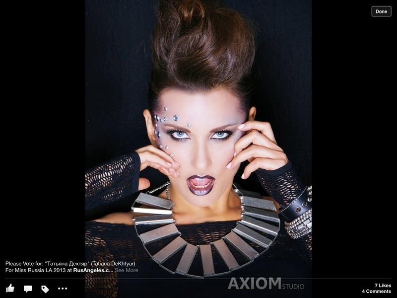 Female model photo shoot of Tamiko Carrillo in Tamiko Pro Makeup and Skincare studio