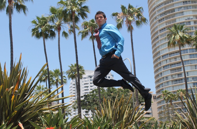 Male model photo shoot of Luis  Pinon in long beach
