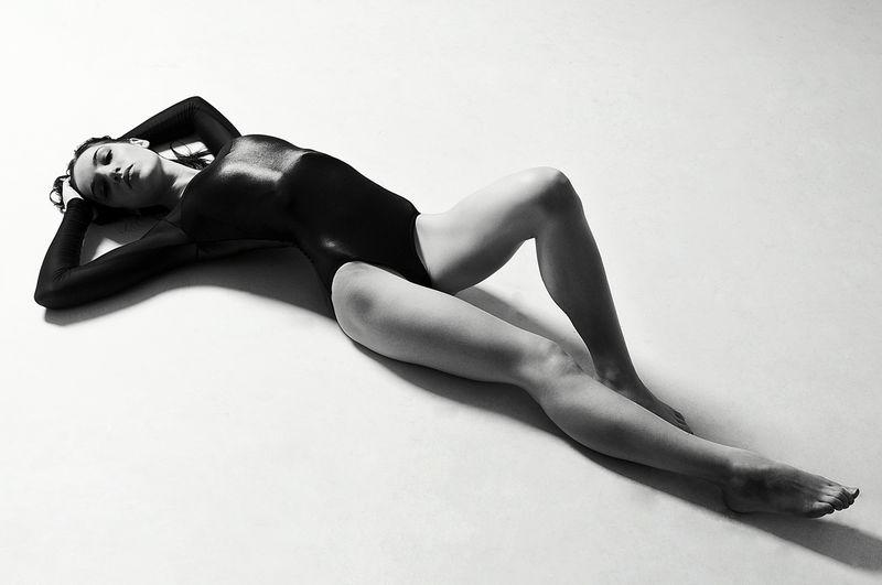 Female model photo shoot of Madeleine Isabel by Brad Mawby