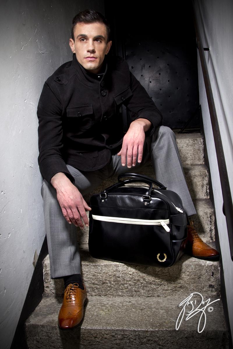 Male model photo shoot of Greg Dorney in Wicklow Historic Gaol, Wicklow, Ireland