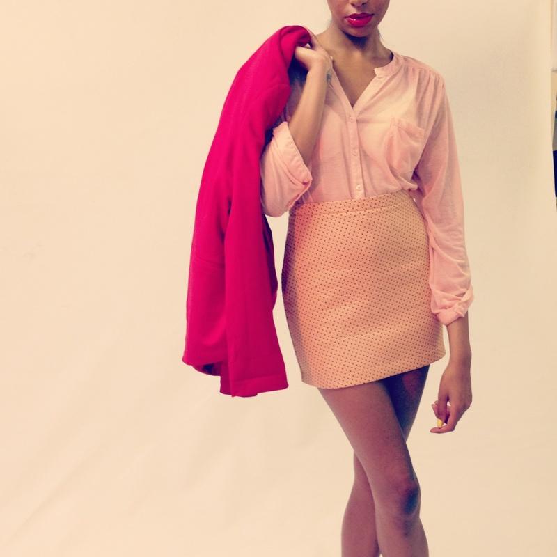 Female model photo shoot of Emma Mulholland  in Dame street