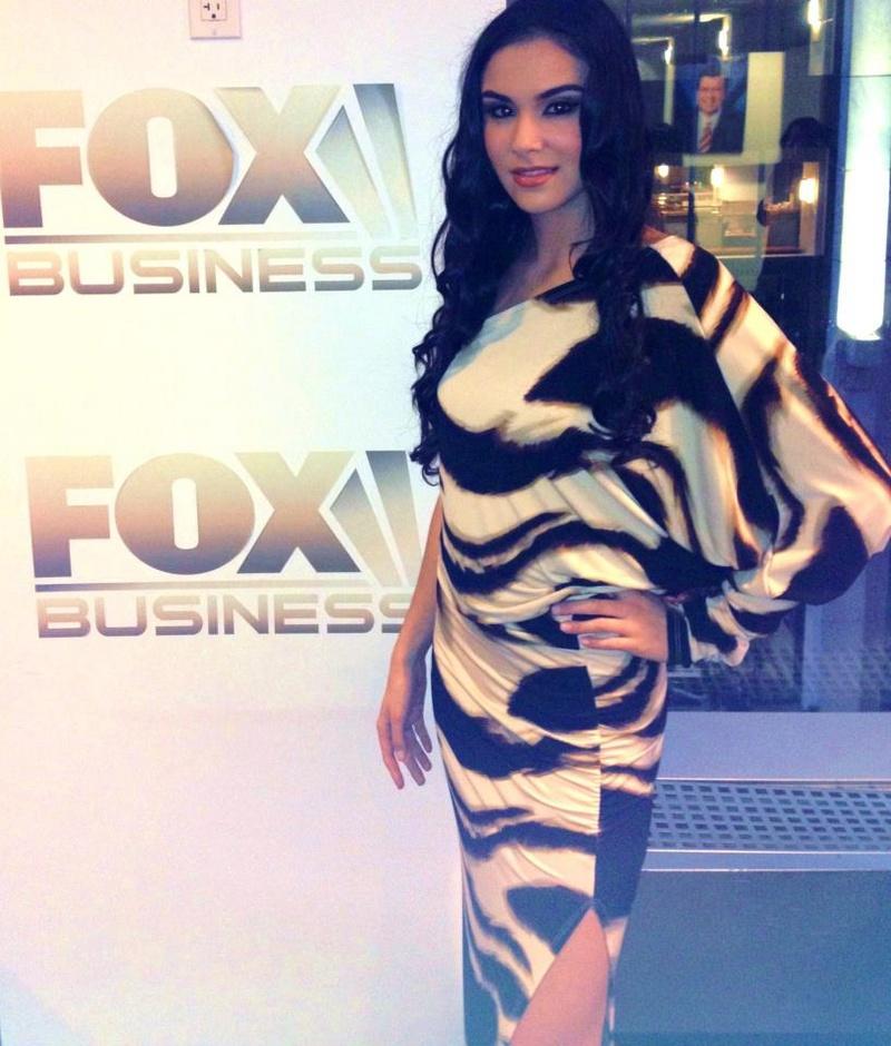 Female model photo shoot of Stephanie Brazeek in FOX NYC