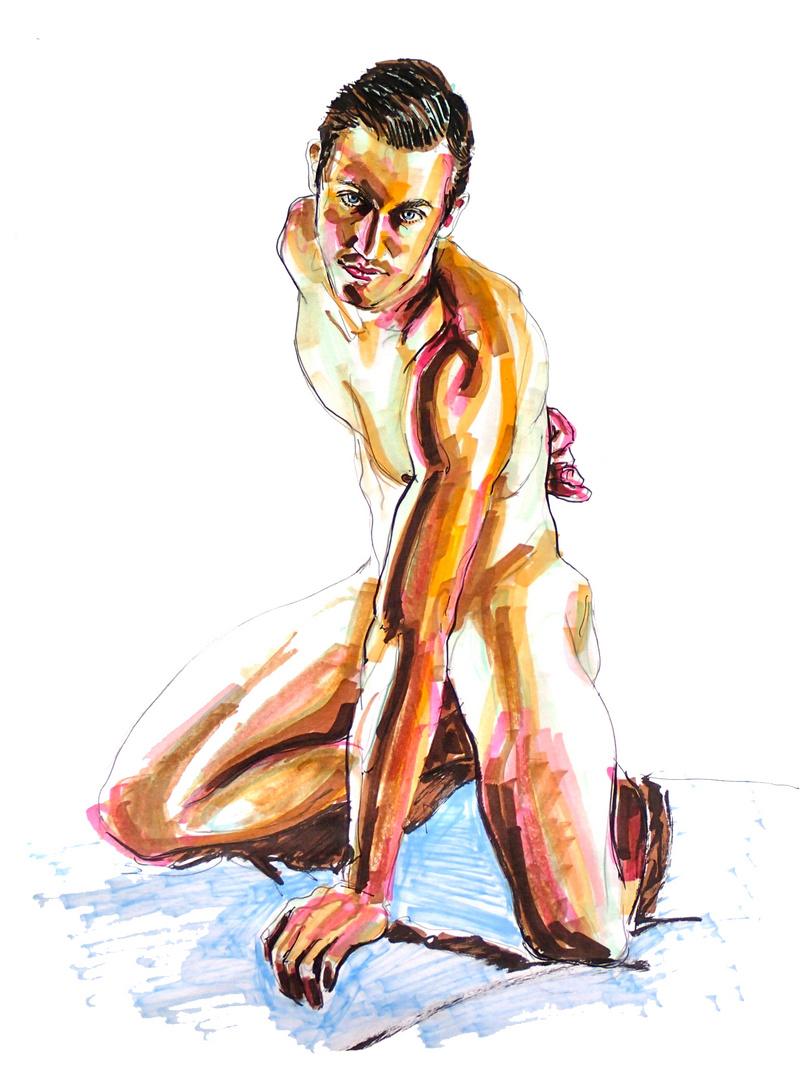 Male model photo shoot of MiguelAngel Modarte and Cary Farrow IV