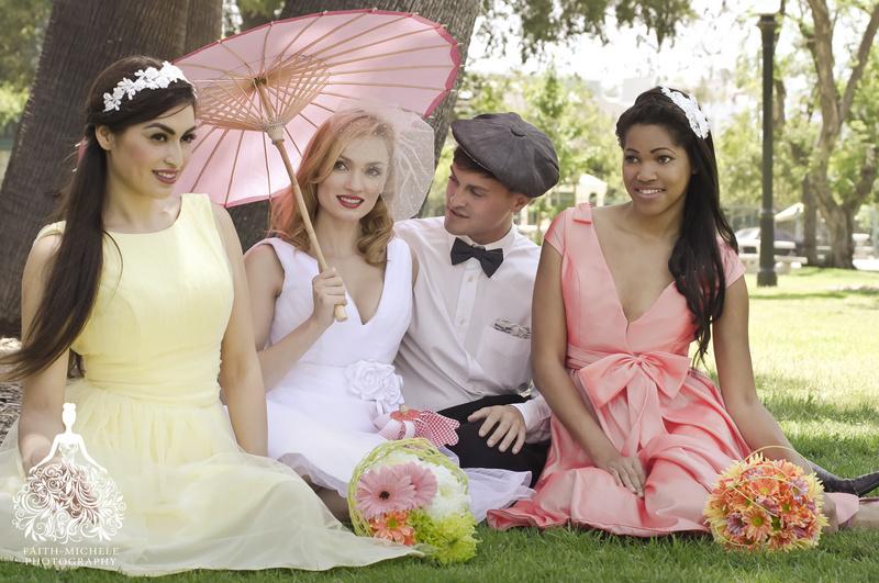 Pasadena, CA Jun 26, 2013 Bridal Catalog shoot by Faith Michele