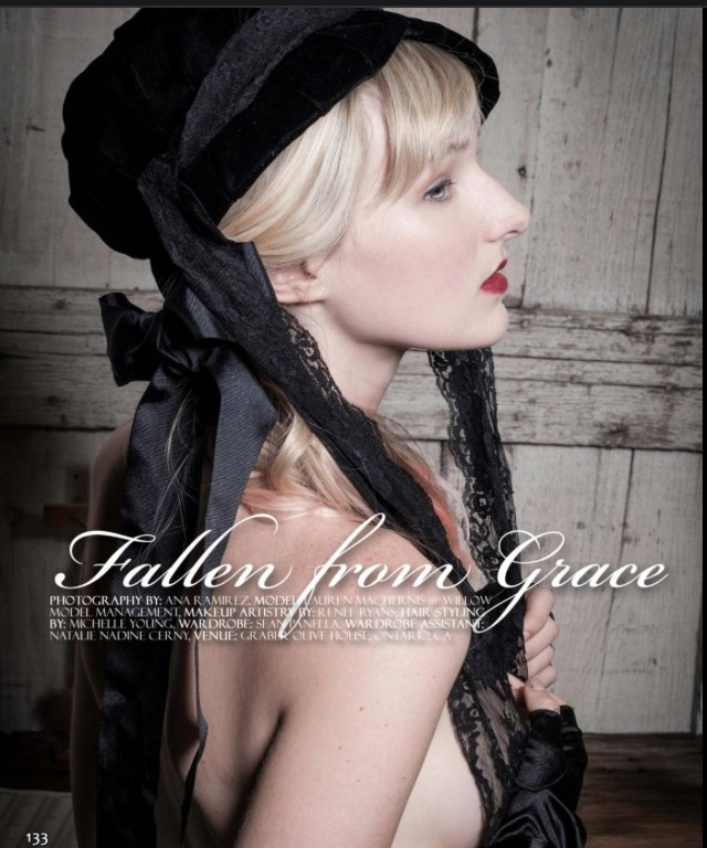 Female model photo shoot of Renee Ryans by A Ramirez Photography, hair styled by Michelle K Young, makeup by Renee Ryans