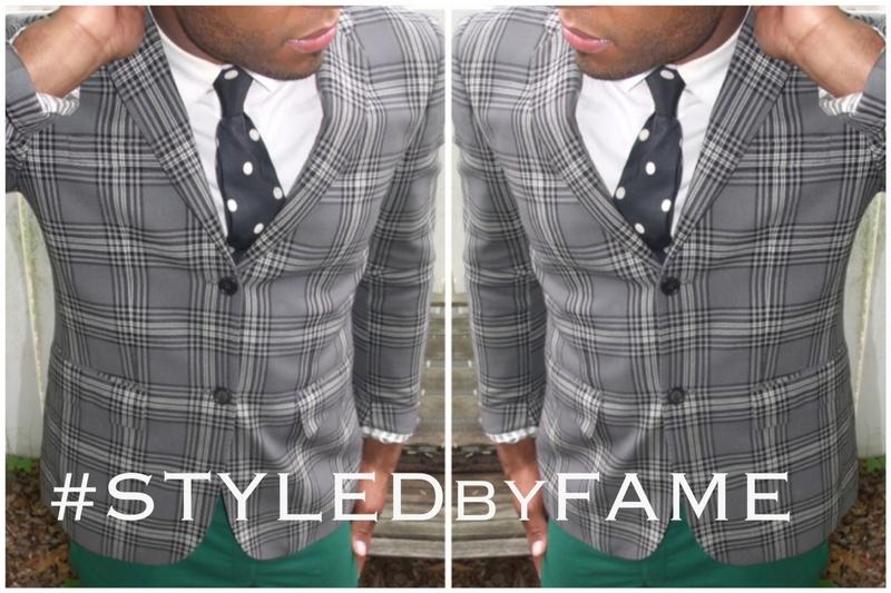 Male model photo shoot of STYLEDbyFAME