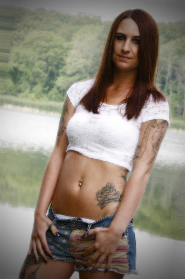 Female model photo shoot of Jessica Sawvel in Upper Long Lake