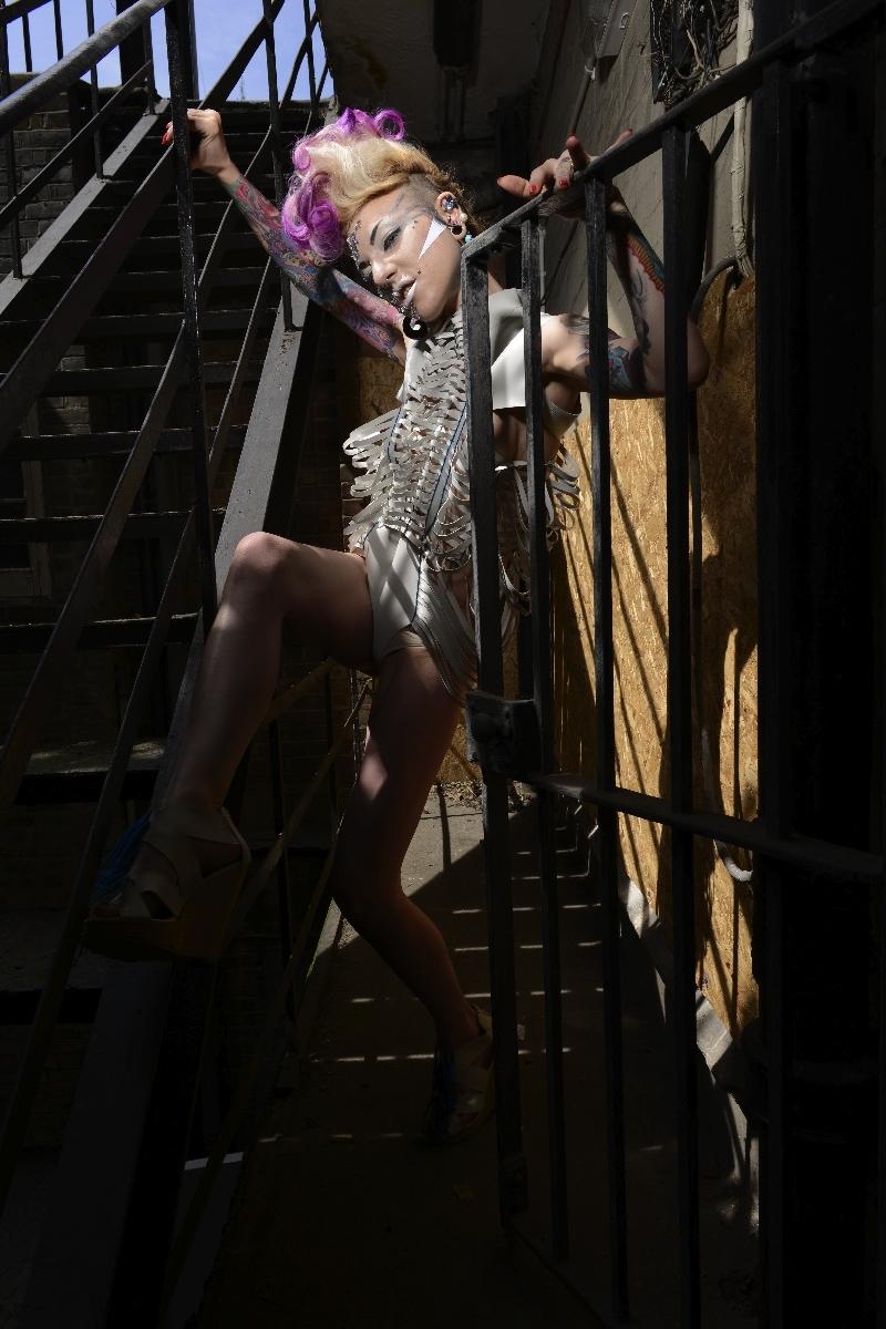Jul 09, 2013 Photog-David Olsan/Mua-Silvia Saccinto/Hair-Ash Kaur/Designer-Cat Yap