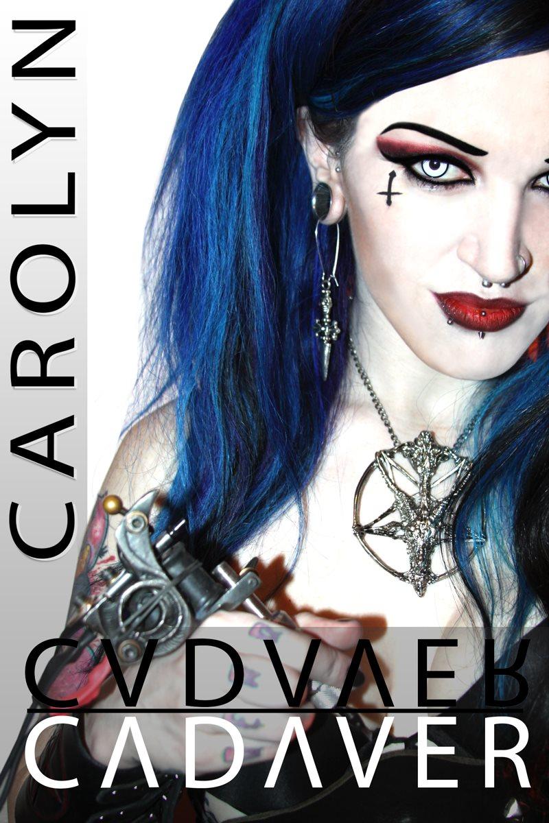 Female model photo shoot of Carolyn Cadaver