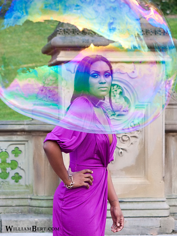 Female model photo shoot of Nana Cee in Central Park