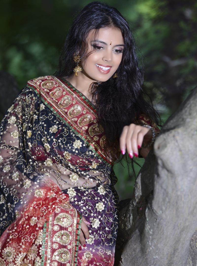Female model photo shoot of Derica T and Priya Kumar