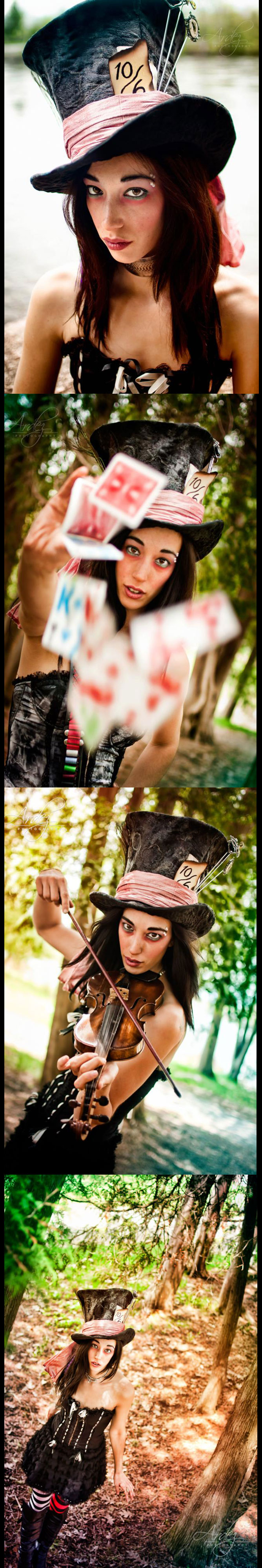 Male and Female model photo shoot of Ardez Photography and trechiq