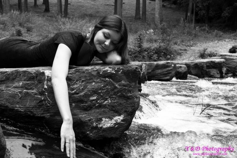 Female model photo shoot of Artist Alexandra