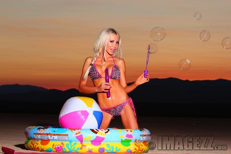 Las Vegas, NV Jul 24, 2013 www.IMAGEZZ.com Vegas Pool Party! (Geneva Koroleva-Model)