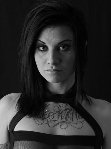 Female model photo shoot of Phoebe Phelpz by Don C Marshall