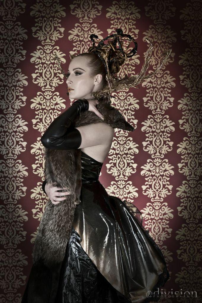 Female model photo shoot of Linda Bitterkalt in Prague, Czech Republic