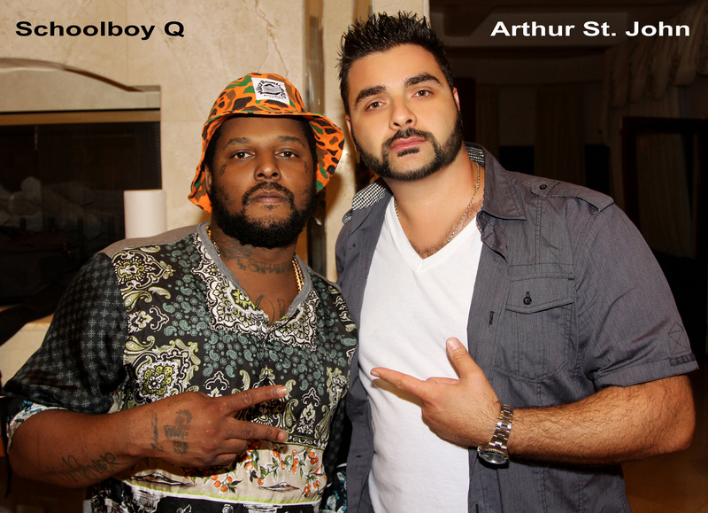 Music Video Set Jul 26, 2013 http://www.ArthurStJohn.com/ Arthur St. John with Schoolboy Q