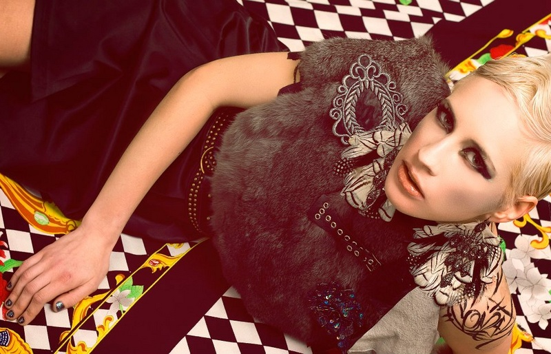 Female model photo shoot of Kris Bholanath