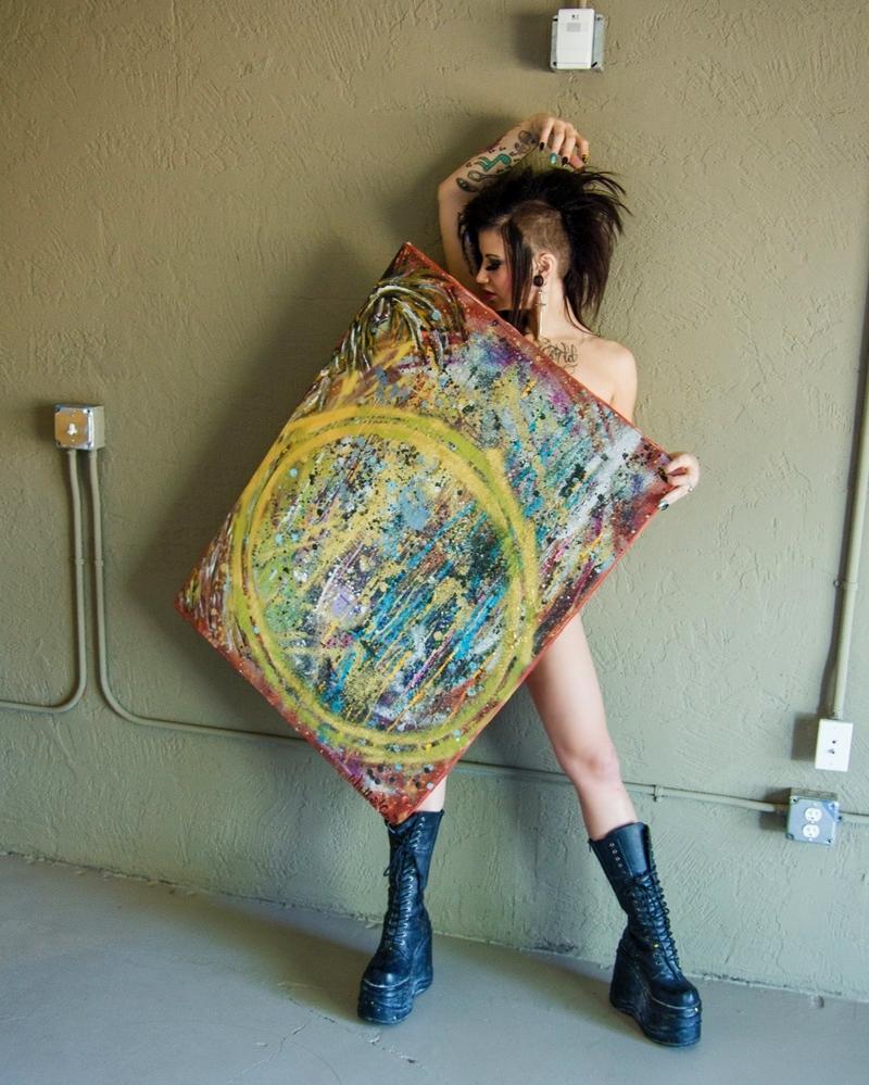 Female model photo shoot of Phoebe Phelpz by Laveen Photography in Phoenix, Arizona