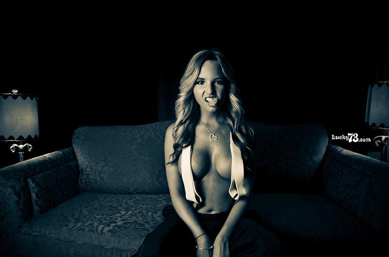 Female model photo shoot of Cassaundra Smoak by Lucky 73 Photos